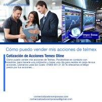 Como saber el valor de las acciones telmex