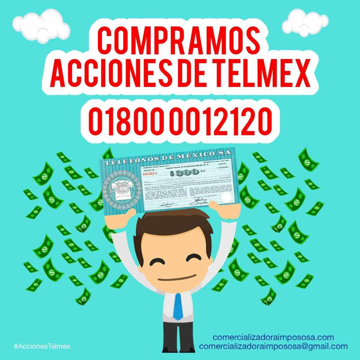 COTIZAMOS ACCIONES TELMEX