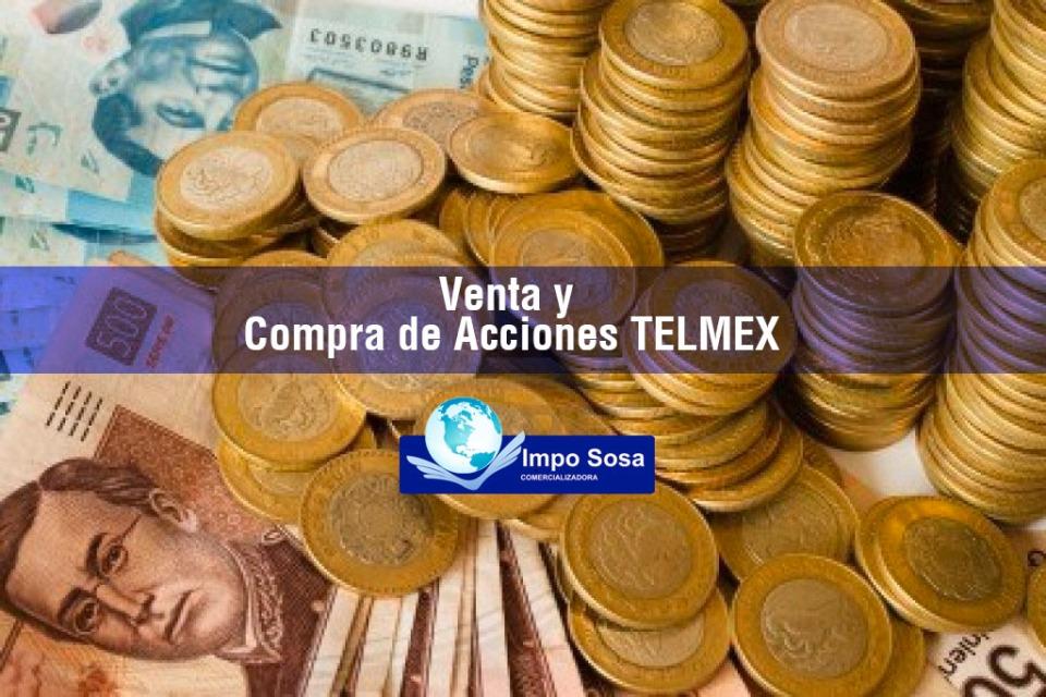 Compra y venta de acciones telmex